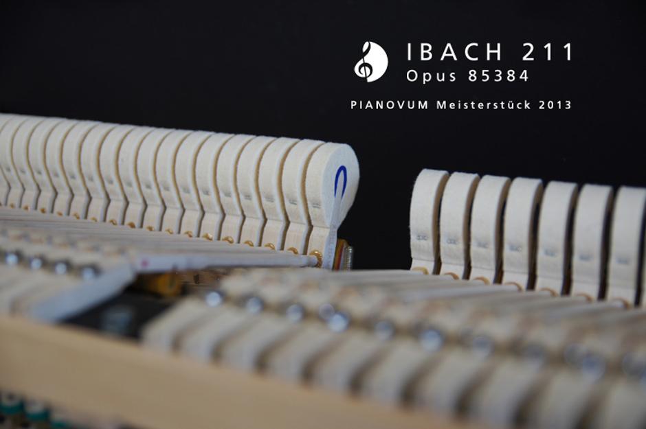 PIANOVUM Meisterstück IBACH 211